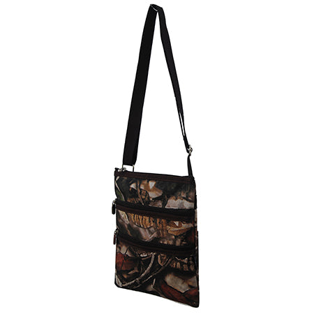 Brown Camouflage NGIL Messenger Hipster Bag