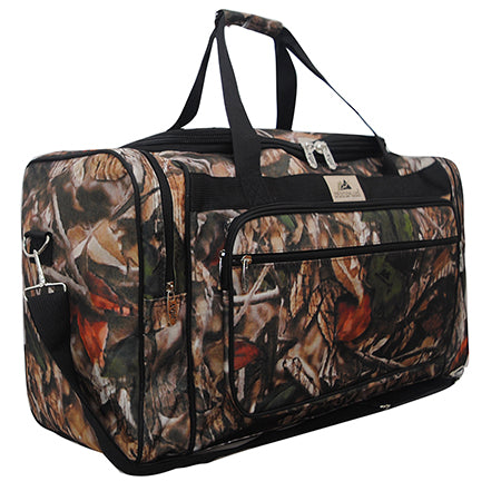 "Black Camouflage NGIL Canvas 23"" Duffle Bag"