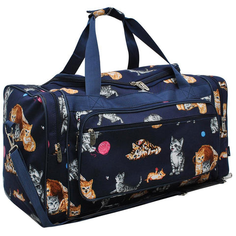 "Cat Playground World NGIL Canvas 23"" Duffle Bag"