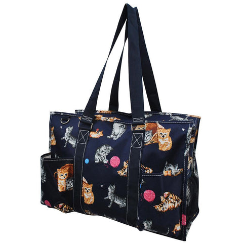 Cat Playground World NGIL Zippered Caddy Large Organizer Tote Bag