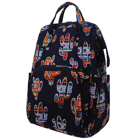 Colorful Cactus NGIL Diaper Bag/Travel Backpack