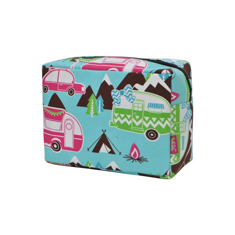 Cosmetic bags for travel, women's makeup bag set, makeup pouch for cheap, makeup gift idea, large monogram cosmetic bag, cosmetic organizer case, travel bags makeup artist, happy camper makeup bags,