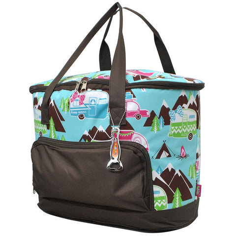 Happy Camper Brown NGIL Cooler Bag