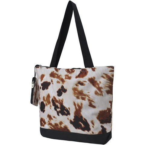 NGIL Brand, Personalized Travel Bag, monogram gift ideas, personalized accessories for mom, gifts for mom, nice tote bags for work, nice canvas tote bag, cute cow tote bag, cow bags for women, nice women's tote bag, ngil tote bags.