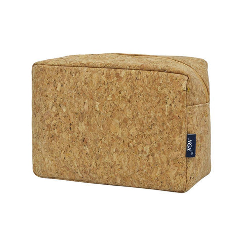 Cork NGIL Large Cosmetic Travel Pouch