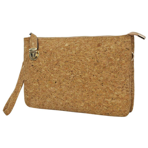Cork NGIL Push Lock Clutch/Crossbody Bag