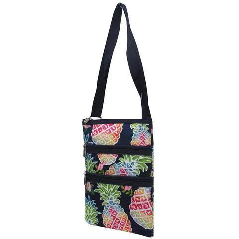 Tropical Pineapple NGIL Messenger Hipster Bag