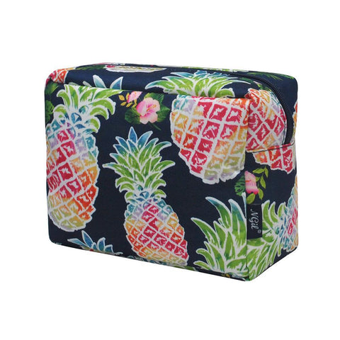 Tropical Pineapple NGIL Large Cosmetic Travel Pouch