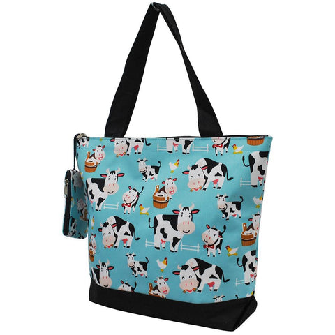 Cow in Town NGIL Canvas Tote Bag