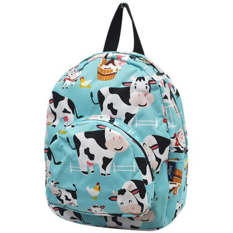 Cow in Town NGIL Canvas Mini Backpack