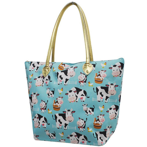 Cow In Town NGIL Gold Collection Tote Bag