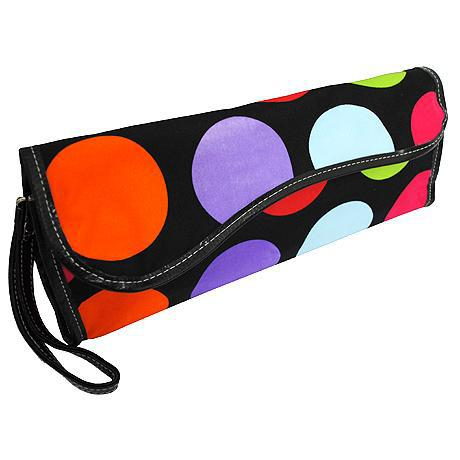 Multi Polka Dots NGIL Insulated Curling Iron Bag for Traveling
