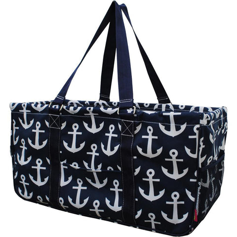 NGIL, Monogram gifts for her, monogram tote for teachers, personalized tote, teacher gifts, Anchor tote bag.
