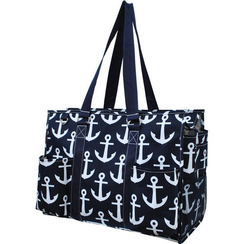Anchor NGIL Zippered Caddy Large Organizer Tote Bag