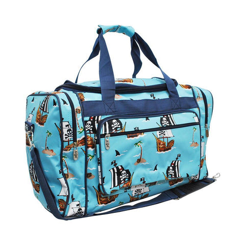 "Pirate Battleship NGIL Canvas Carry on 20"" Duffel Bag"