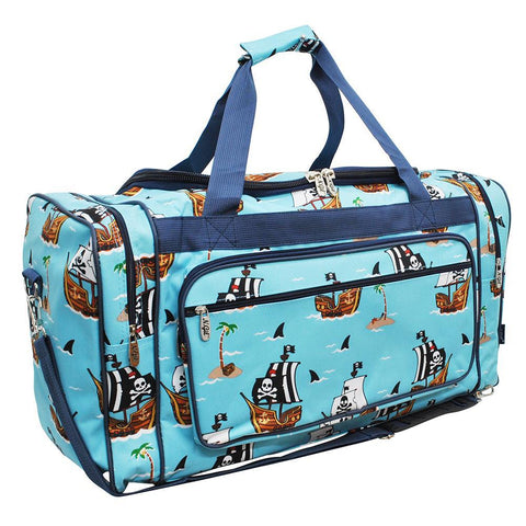 "Pirate Battleship NGIL Canvas 23"" Duffle Bag"