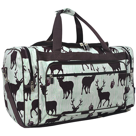 "Forest Deer NGIL Canvas 23"" Duffle Bag"