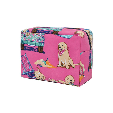 Happy Beach Day NGIL Large Cosmetic Travel Pouch