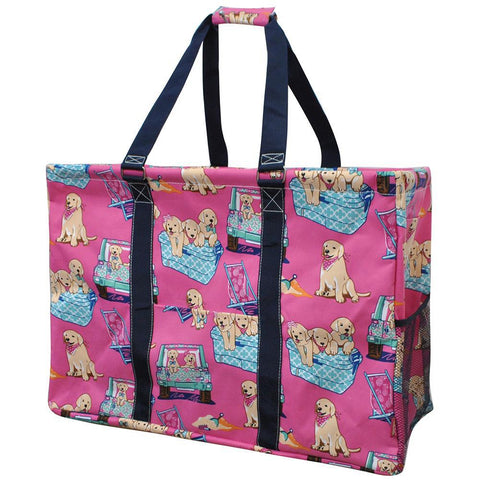 Happy Beach Day NGIL Mega Shopping Utility Tote Bag