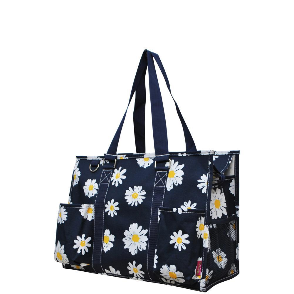 NGIL Brand, Gifts for teacher, monogram travel accessories, monogram tote for women zipper, monogram tote bags in bulk, nurse canvas tote, wholesale totes, tote bags, flower tote, flower bag.