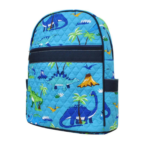 Friendly Dinosaur NGIL Quilted Backpack