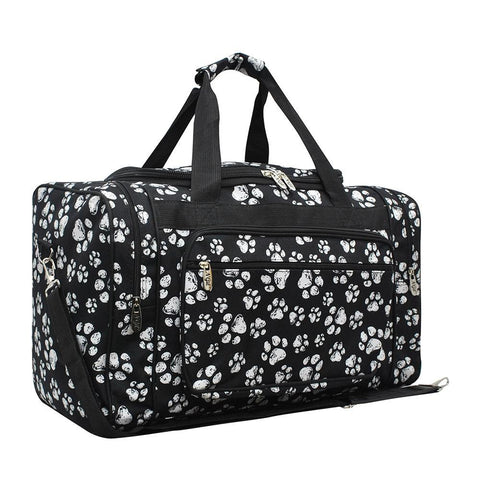 "Puppy Paw NGIL Canvas 20"" Duffle Bag"