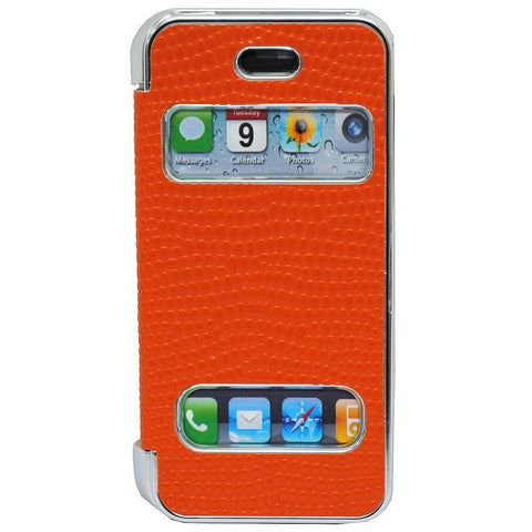 Pati Orange PVC Smartphone Case For iPhone 5