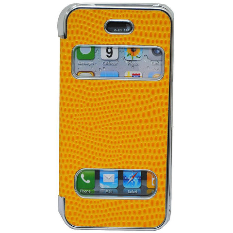 Pati Yellow PVC Smartphone Case For iPhone 5