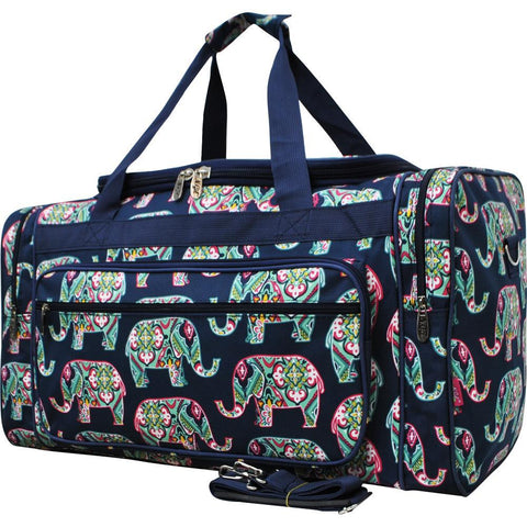 "Elephant Navy NGIL Canvas 23"" Duffle Bag"