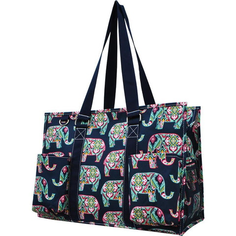 Elephant NGIL Zippered Caddy Large Organizer Tote Bag