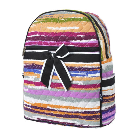 Stripes NGIL Quilted Backpack