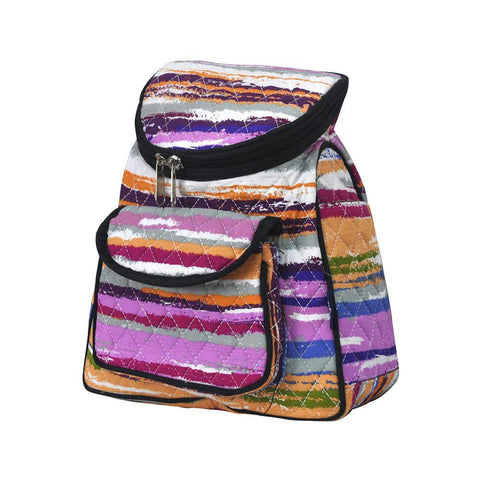 Stripes NGIL Quilted Mini Backpack