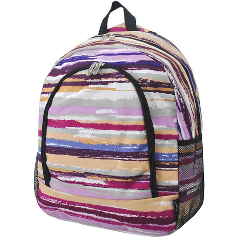 Stripes NGIL Canvas School Backpack