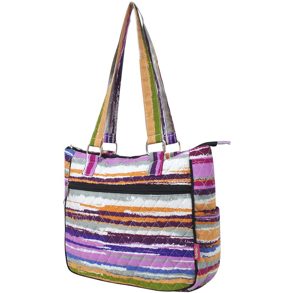 Stripes NGIL Double Handle Handbag