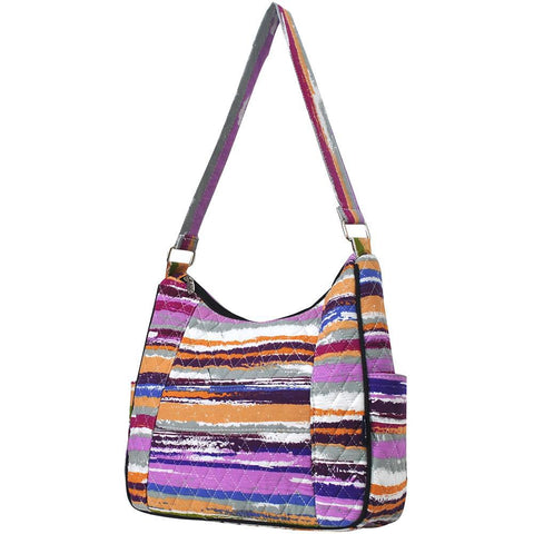 Stripes NGIL Hobo Fashion Handbag