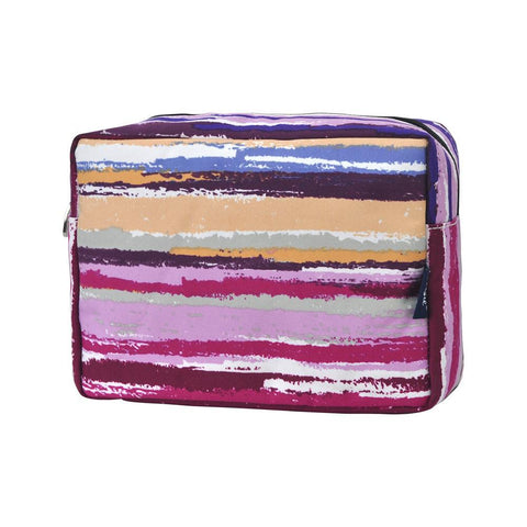 Cosmetic bags in bulk, best women's makeup bag, makeup pouch for school, makeup bag gifts for women, makeup organizer case, cosmetic bag for bride, travel bags gift, striped cosmetic bag wholesale, striped pink cosmetic bag, striped canvas cosmetic bag