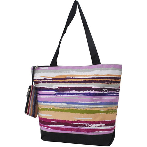 NGIL Brand, Personalized Travel Bag, striped canvas tote bag, striped beach tote bag, monogram gift ideas, personalized accessories for mom, gifts for mom, nice tote bags for work, nice canvas tote bag, nice women's tote bag, ngil tote bags,