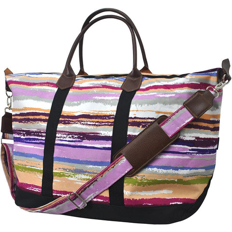 Personalized weekender tote bags, cute travel bag, cute weekender bags, striped traveling bag, striped beach bag, personalized leather weekender bag, monogrammed weekender travel bag, monogrammed weekender tote bag, cute weekender duffle bags, cute weekender tote bags, customized women's weekender,