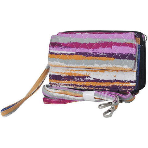 Stripes NGIL Quilted All In One Wallet