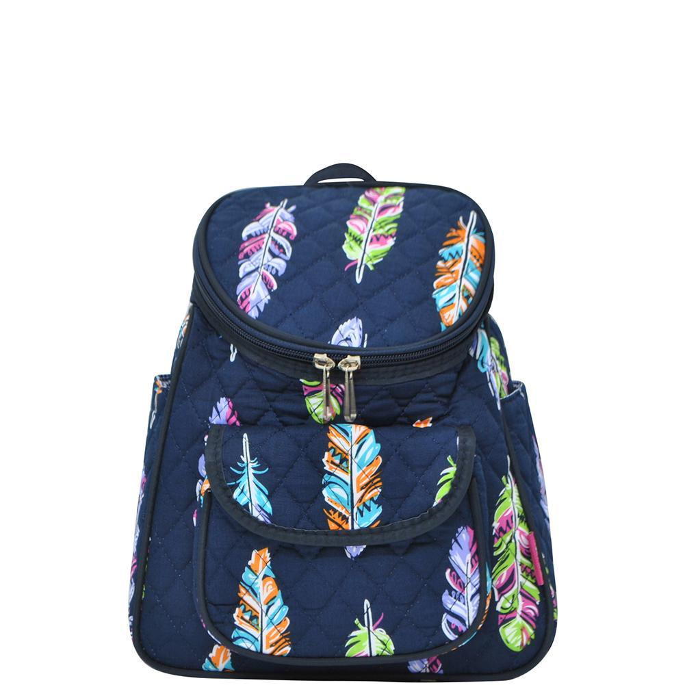 Feather NGIL Quilted Mini Backpack