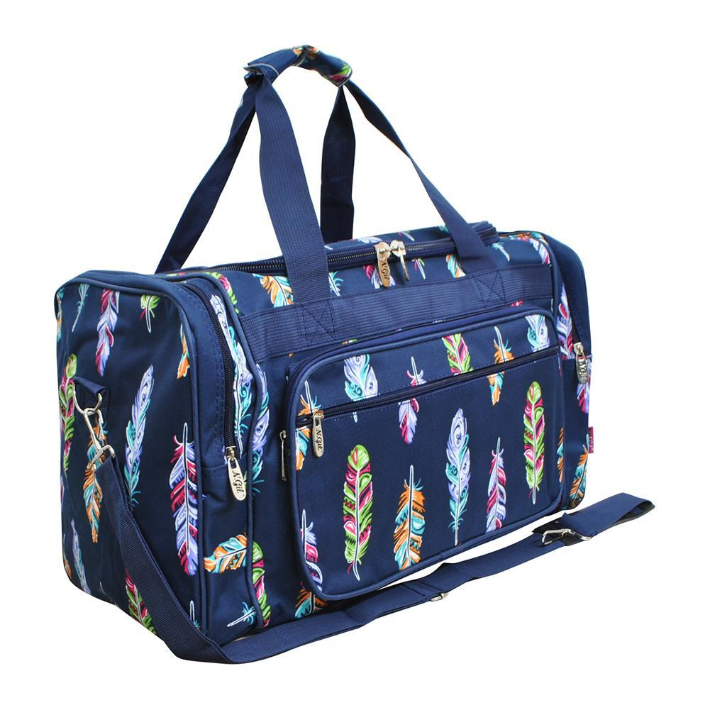 "Feather NGIL NGIL Canvas 20"" Duffle Bag"