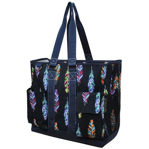 Feather NGIL Tall Canvas Tote Bag