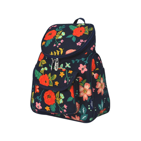 Floral Print NGIL Canvas Mini Backpack