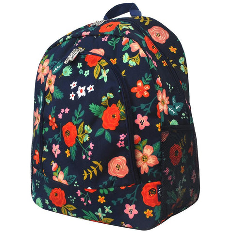 large school backpack, monogram backpack back to school, cute backpack purse, back to school backpacks, backpack diaper bag for women, monogram gifts for teenage girl, personalized backpack toddler, navy blue flower backpack, cute flower print bag, flower print school backpack,