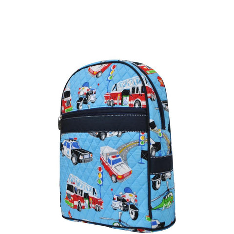 Fire Truck NGIL Quilted Backpack