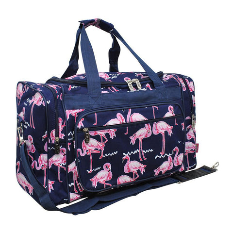 "Flamingo NGIL NGIL Canvas 20"" Duffle Bag"