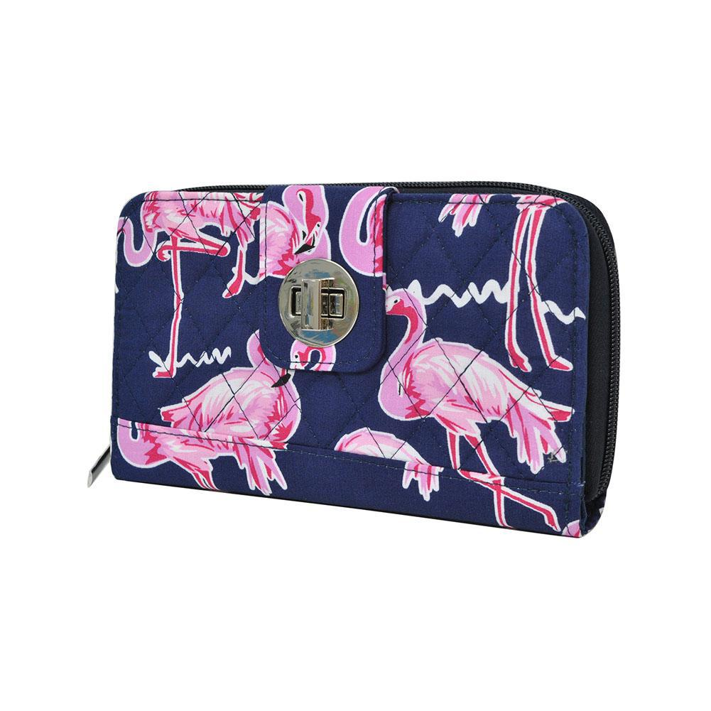 Flamingo NGIL Quilted Twist Lock Wallet