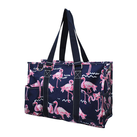 NGIL Brand, Personalized Travel Bag, monogram gift ideas, personalized accessories for mom, nurse tote organizer wholesale, gifts for mom, navy tote, pink flamingo bag.
