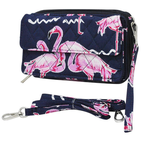 Flamingo NGIL Quilted All in One  Wallet