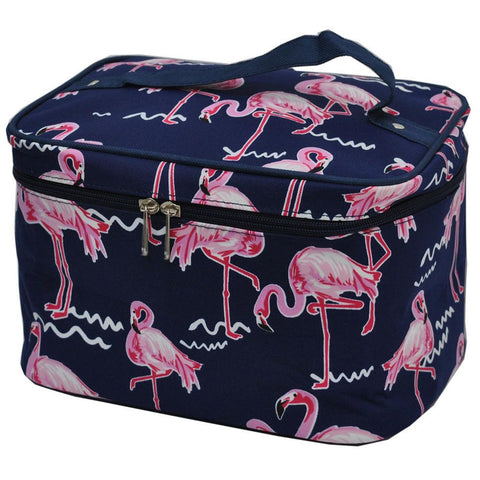 flamingo cosmetic bag, flamingo cosmetic case, flamingo print cosmetic case, Cosmetic bag personalized, makeup bag for traveling, makeup bag for brushes, makeup case for bride, makeup organizer travel, personalized makeup bag bridesmaids,
